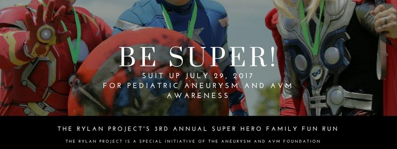 3rd Annual Super Hero Family Fun Run