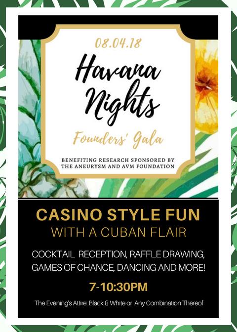Havana Nights Founders' Gala